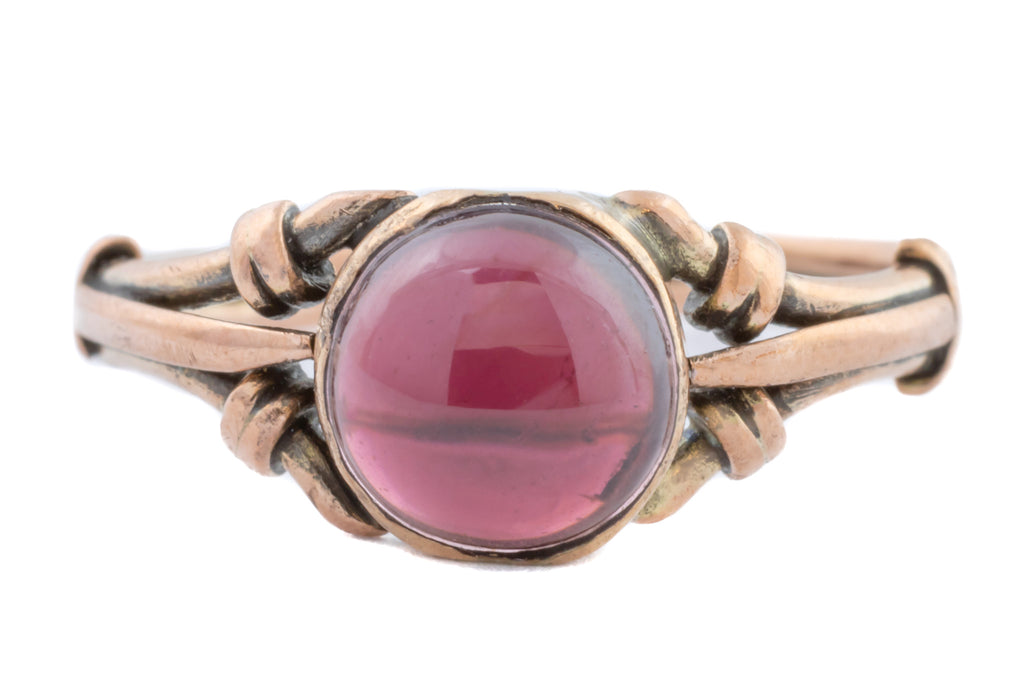 Antique 9ct Gold Garnet Ring (1.59ct)
