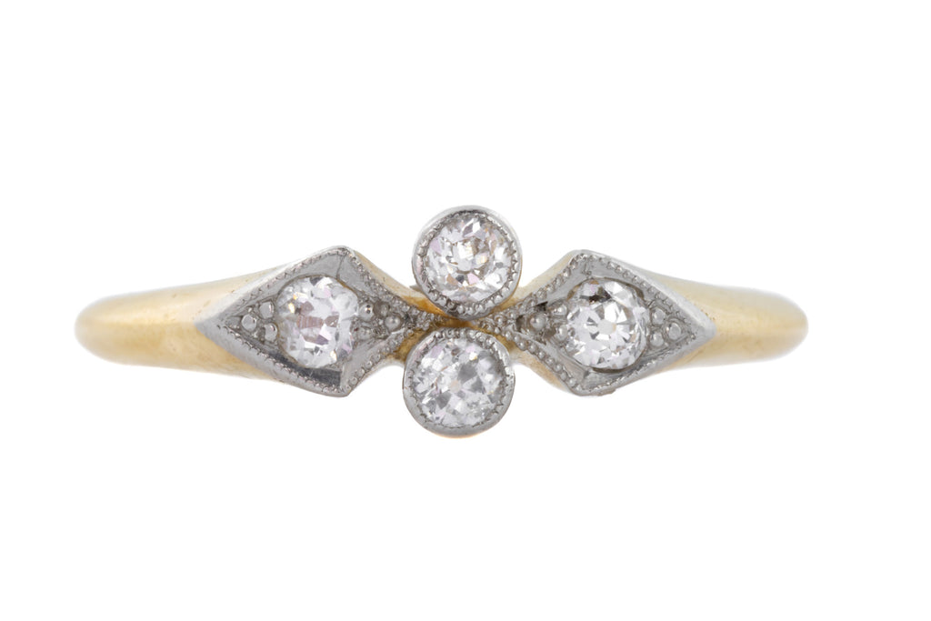 Art Deco Diamond Ring (0.16ct)