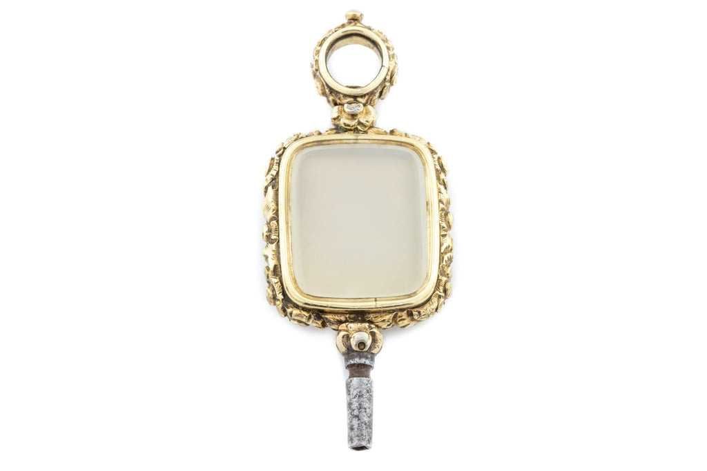 Victorian Watch Key Fob Pendant c.1840