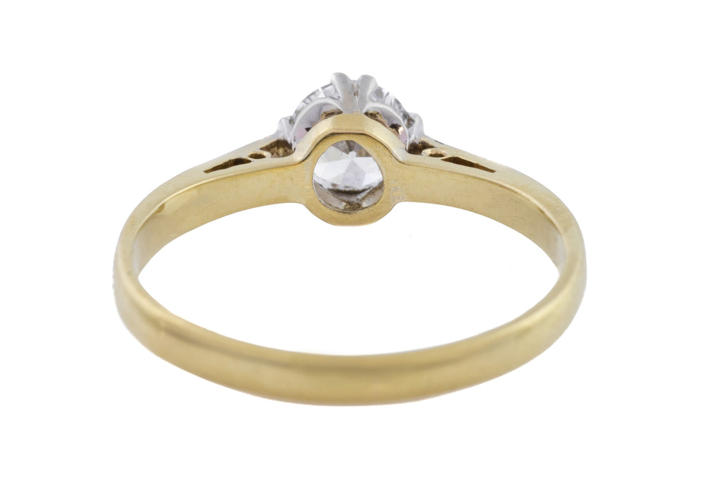 Art Deco Diamond Solitaire Ring (0.60ct)