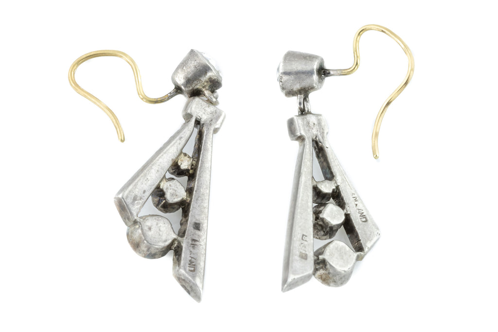 Art Deco Paste Drop Earrings