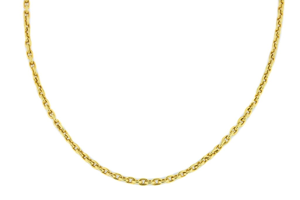 18ct Gold Antique Belcher Chain 18.5""