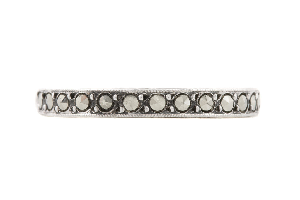 Art Deco Marcasite Eternity Ring