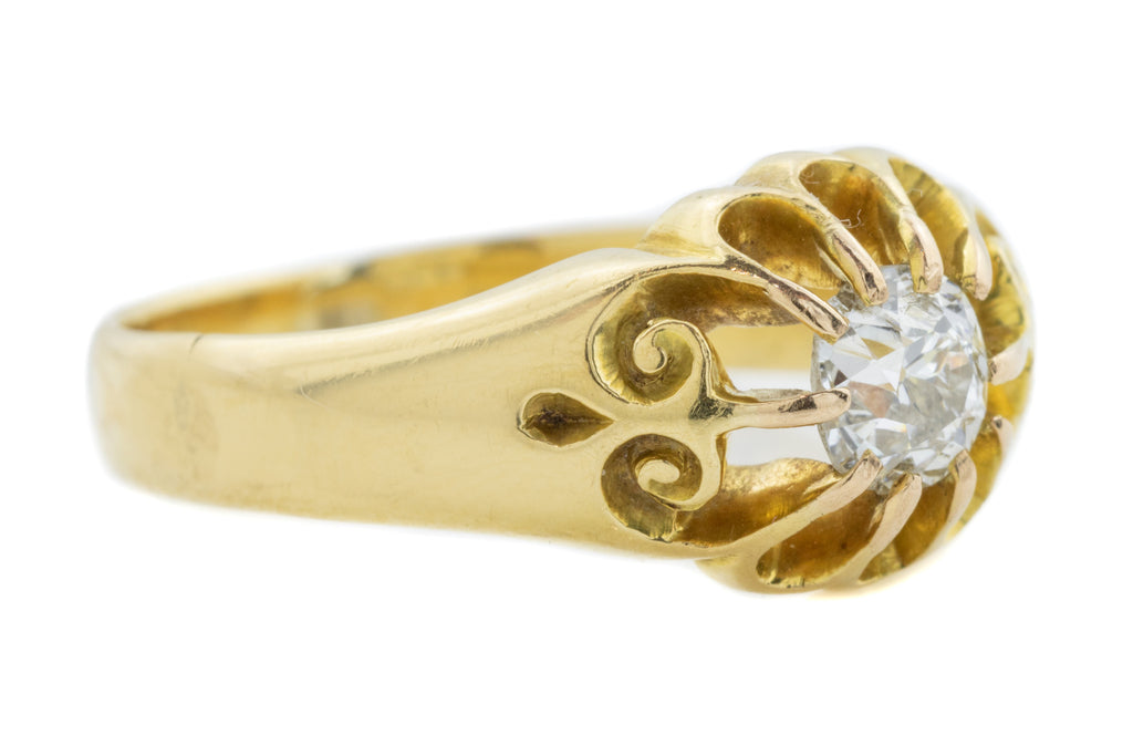 18ct Gold Antique Diamond Engagement Ring (0.30ct)