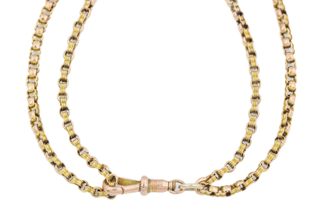"Antique 9ct Gold Chain Necklace, 31.5"" (18g)"