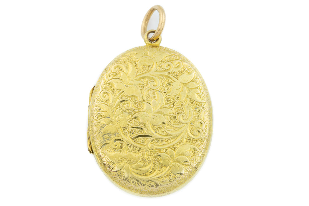 Early Victorian 15ct Gold Locket c.1850
