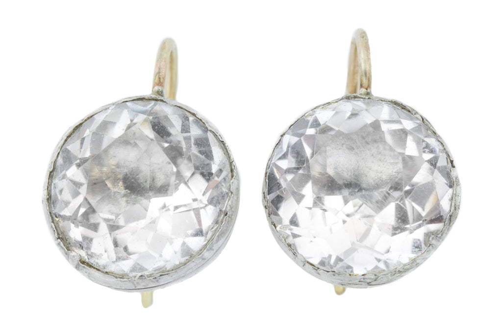 Georgian Rock Crystal Earrings
