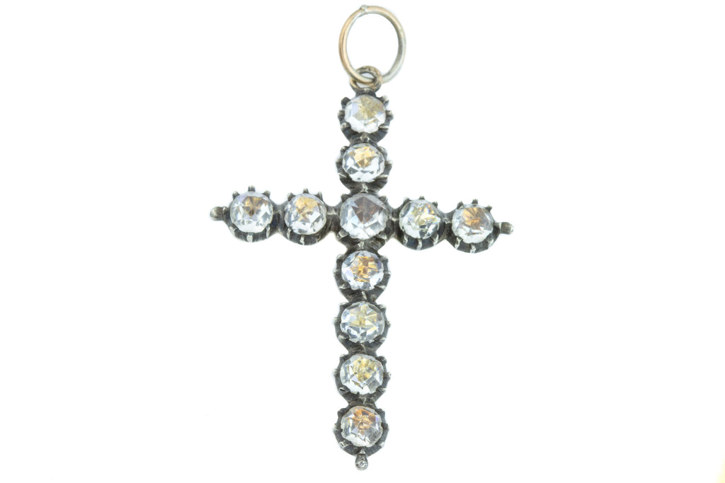 Georgian Paste Cross Pendant c.1780