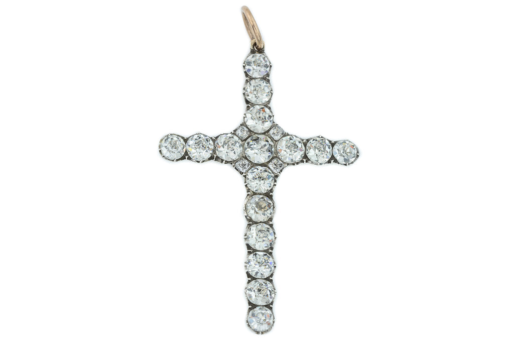 Antique Paste Cross Pendant