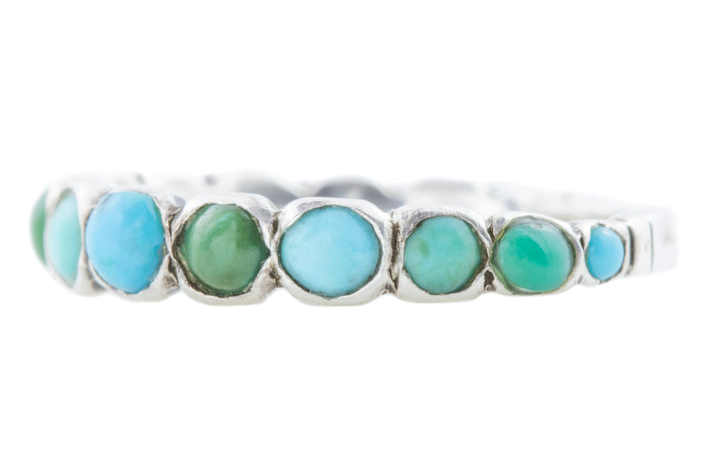 Victorian Turquoise Stacking Ring
