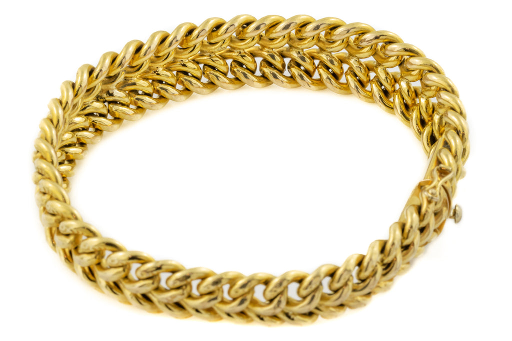 Antique French 18ct Gold FIX Bracelet