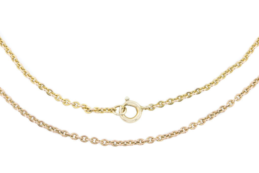"Antique 12ct Gold Chain, 24.5"" (5.7g)"