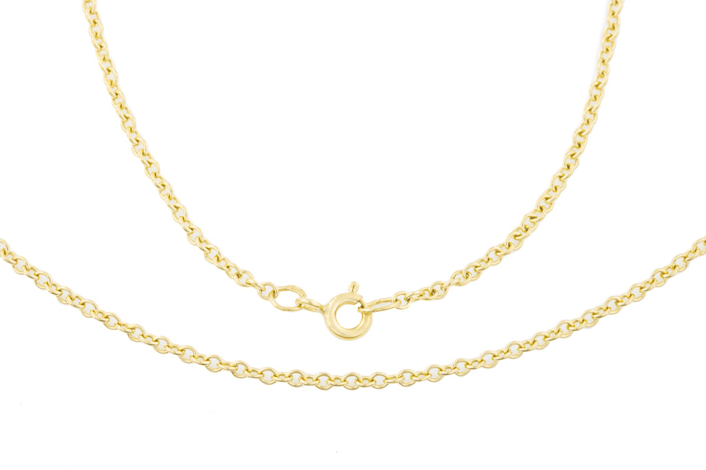 Victorian 9ct Yellow Gold Chain, 20""
