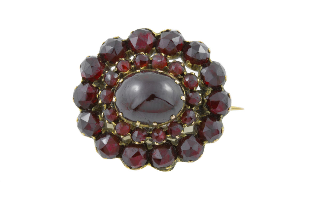 Antique Garnet Brooch (8.82ct)