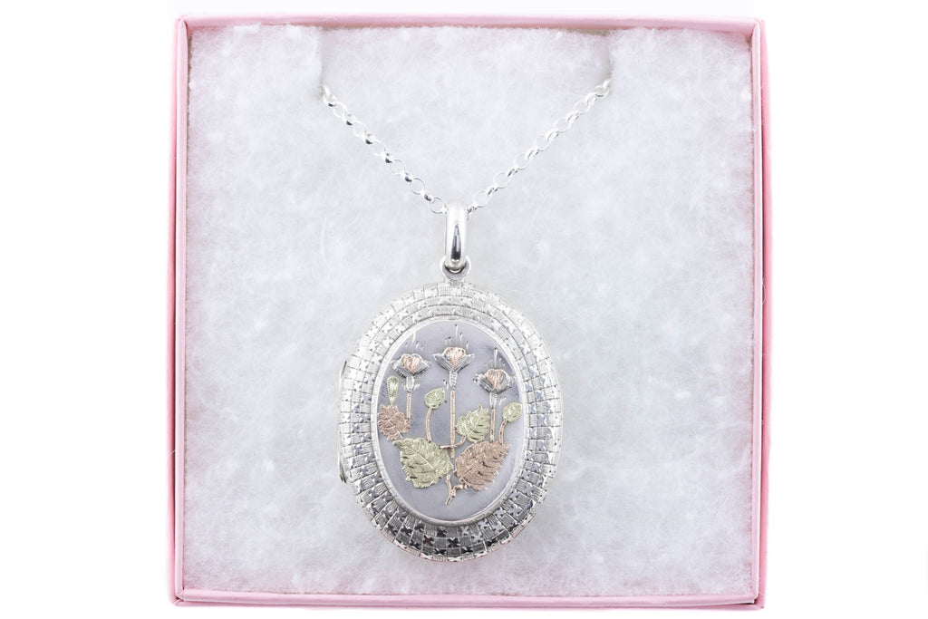 Large Victorian Aesthetic Silver Locket c.1876