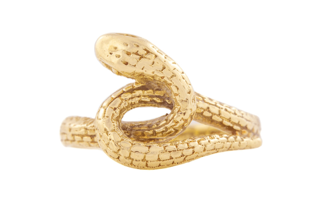 9ct Gold Serpent Ring