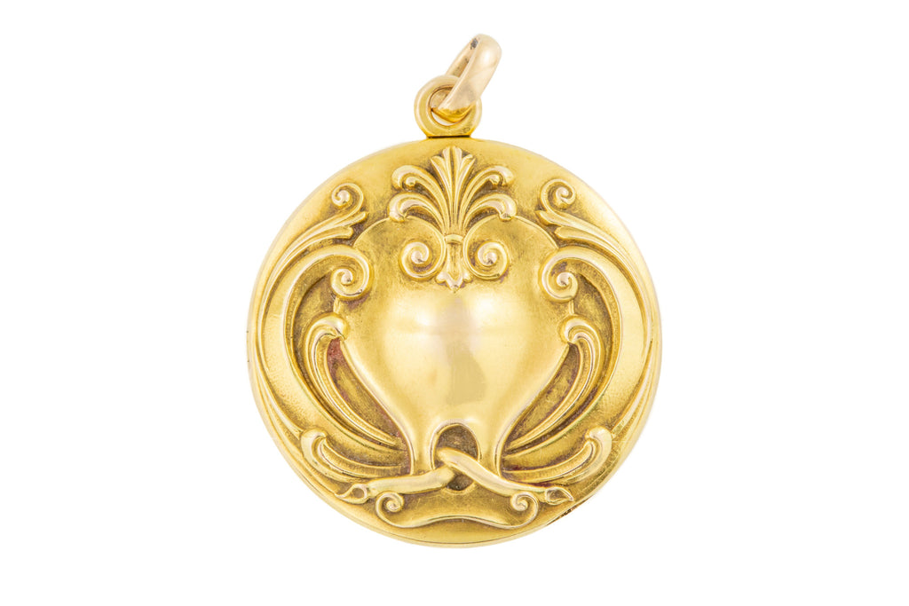 Art Nouveau 14ct Gold Locket