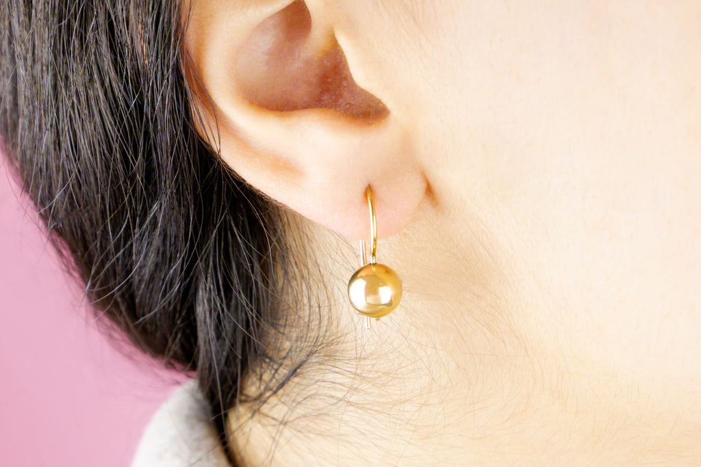 9ct Gold Ball Earrings