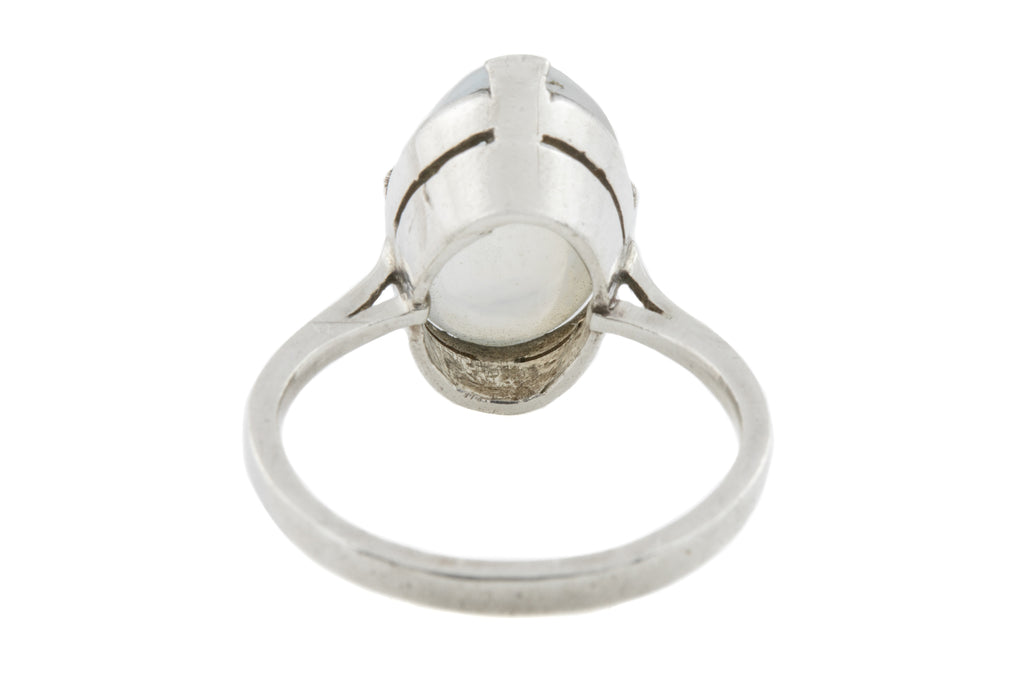 Sterling Silver Moonstone Ring (7.53ct)