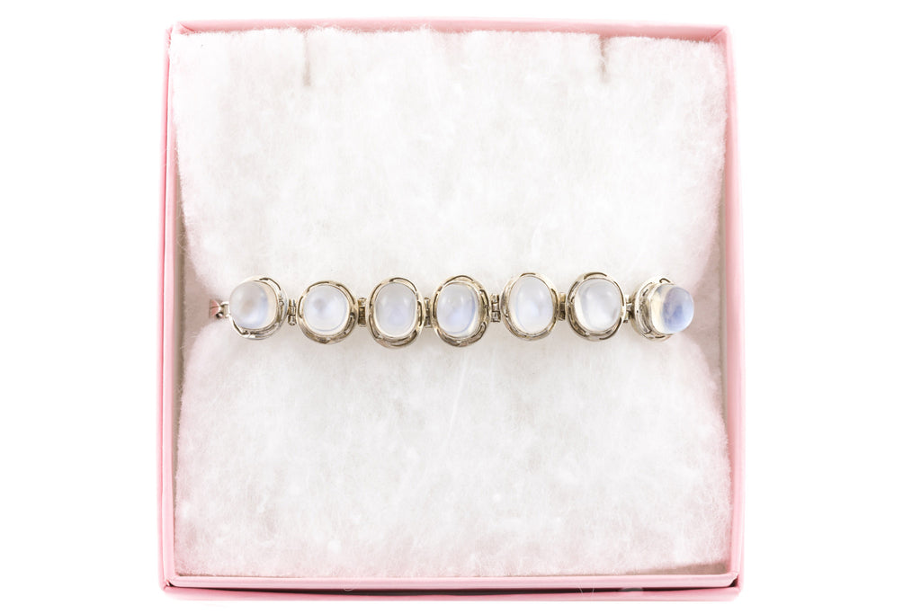 Art Deco Moonstone Bracelet