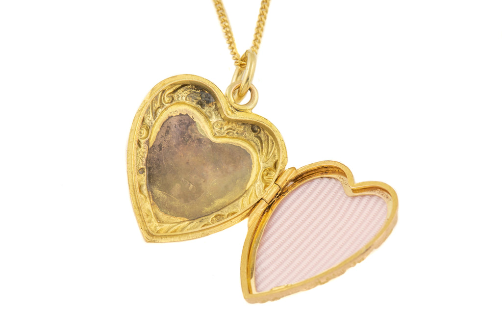 Dainty Edwardian Gold Locket