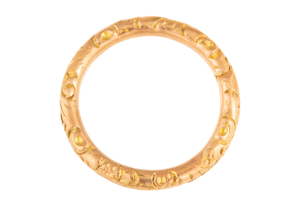 Early Victorian Gold Split Ring (15mm)