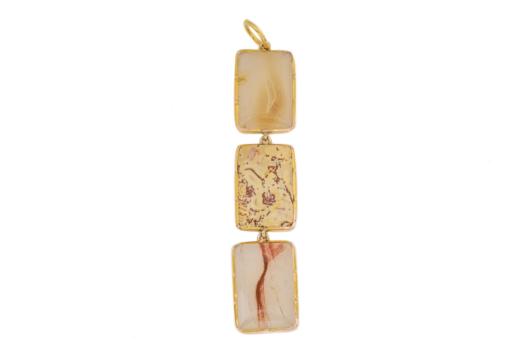 Georgian 12ct Gold Agate Pendant