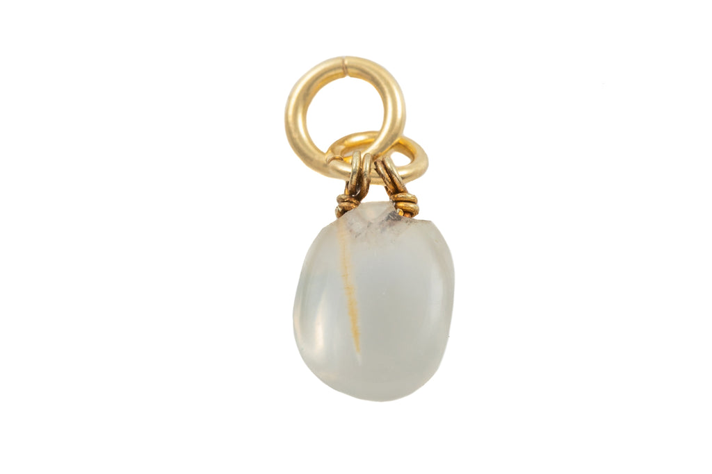 Victorian 18ct Gold Moonstone Cabochon Charm, (2.00ct)