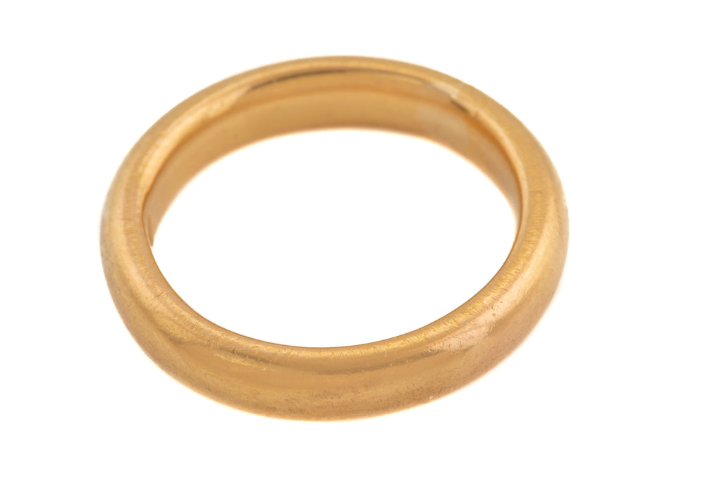 Victorian 22ct Gold Wedding Band
