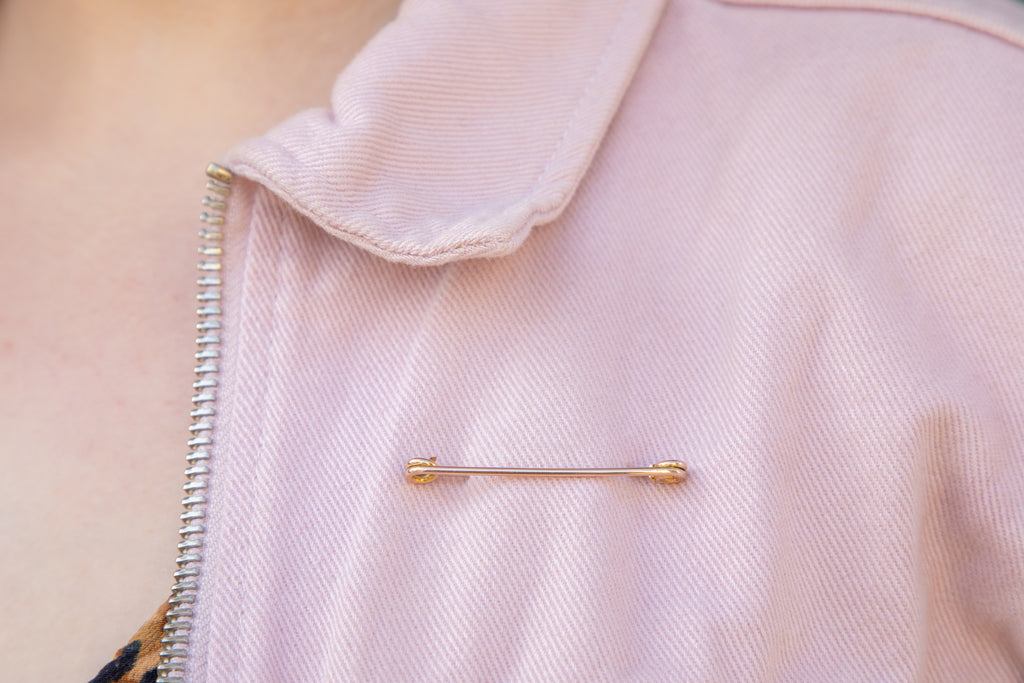 Antique 9ct Gold Stock Pin