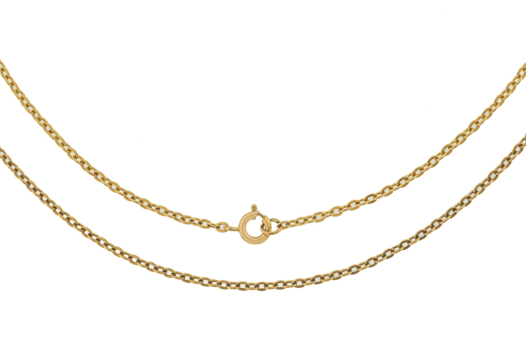 "20"" Art Deco 9ct Gold Chain (3.2g)"