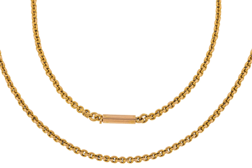 "16"" Victorian 15ct Gold Chain (10.3g)"