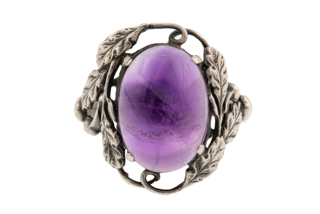Bernard Instone Amethyst Ring in Sterling Silver