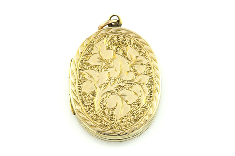 Stunning 9ct Victorian Gold Locket -c.1880