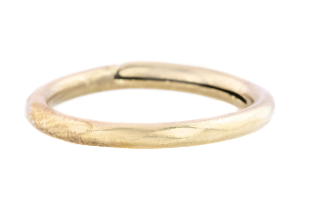 Georgian Split Ring in 9ct Gold