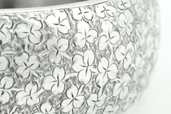 Superb Antique Silver Bangle- Antique Victorian Silver Bangle c.1882