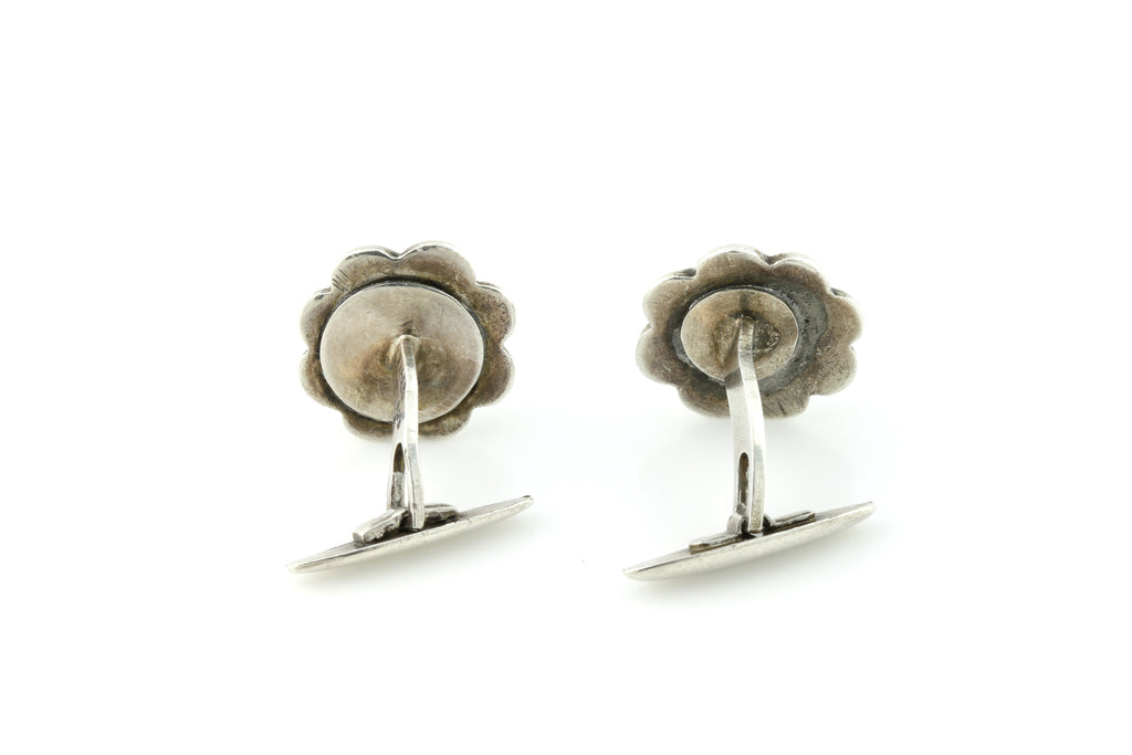 Rare Arts and Crafts Era Silver Cufflinks c.1910