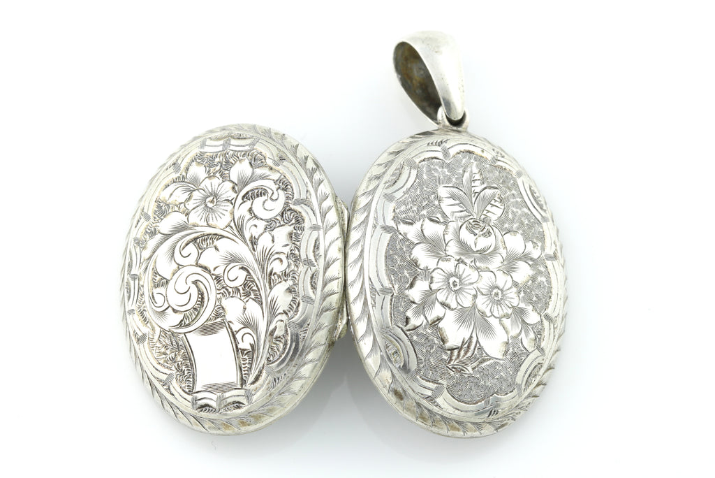 Antique Silver Locket c.1900