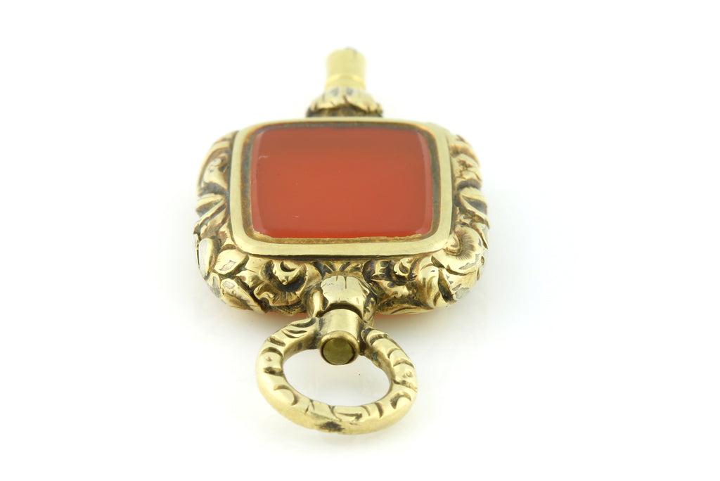 Georgian Fob Pendant 9ct Gold - c.1830