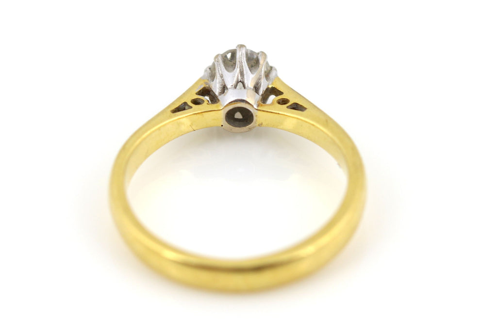 Diamond Solitaire Engagement Ring in 18ct Gold - 0.25ct