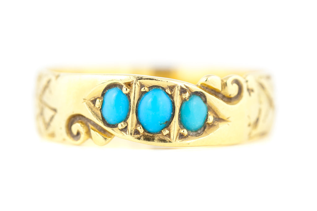 Victorian Turquoise Ring c.1900