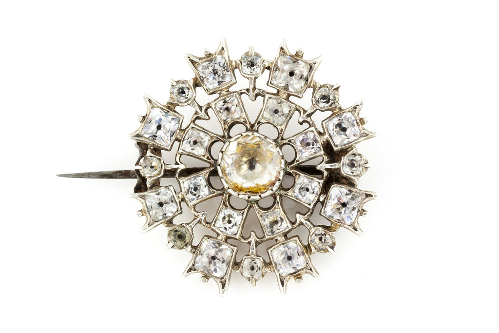 Georgian Paste Brooch - c.1830