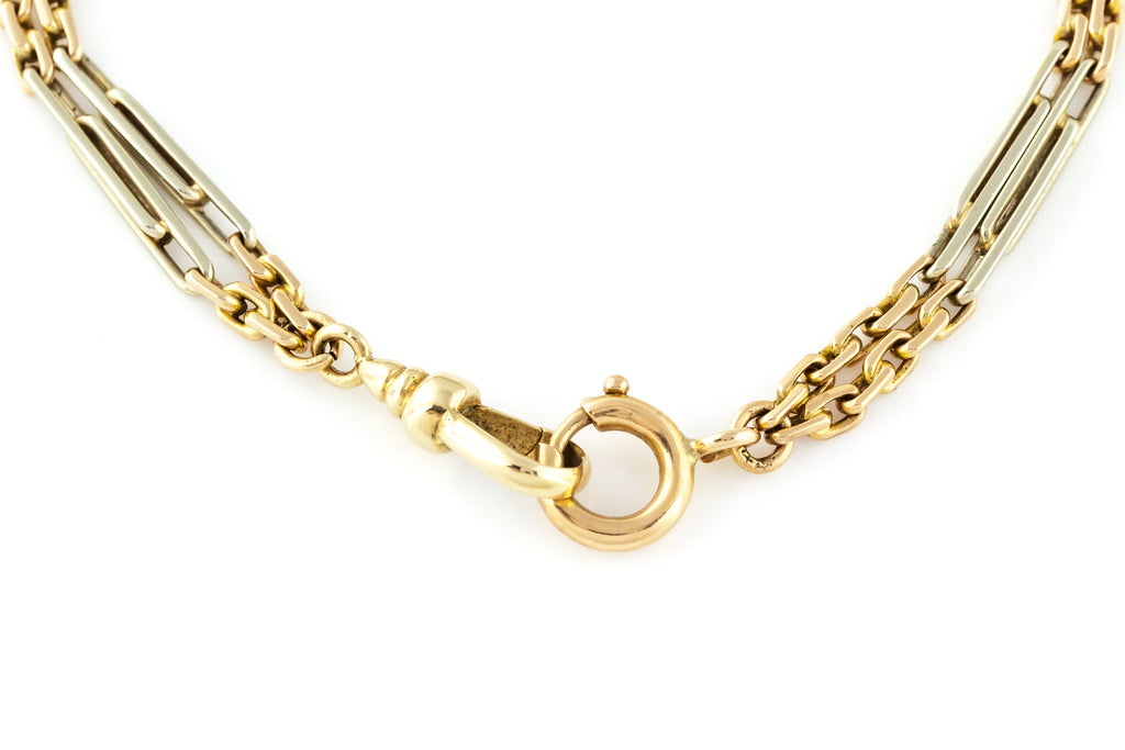 14ct Bi-Colour Gold Victorian Bracelet