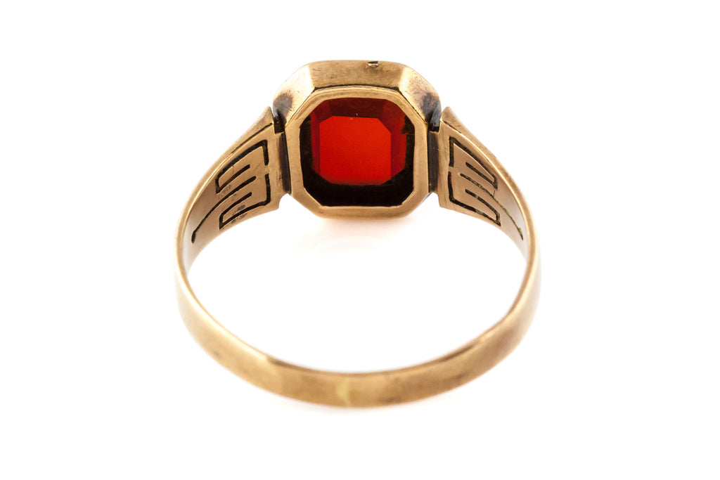 Antique Carnelian Signet Ring