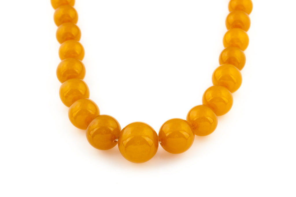Natural Baltic Amber Necklace (40.8g)