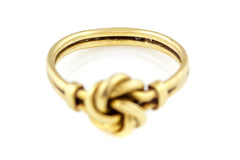 9ct Gold Victorian Knot Ring