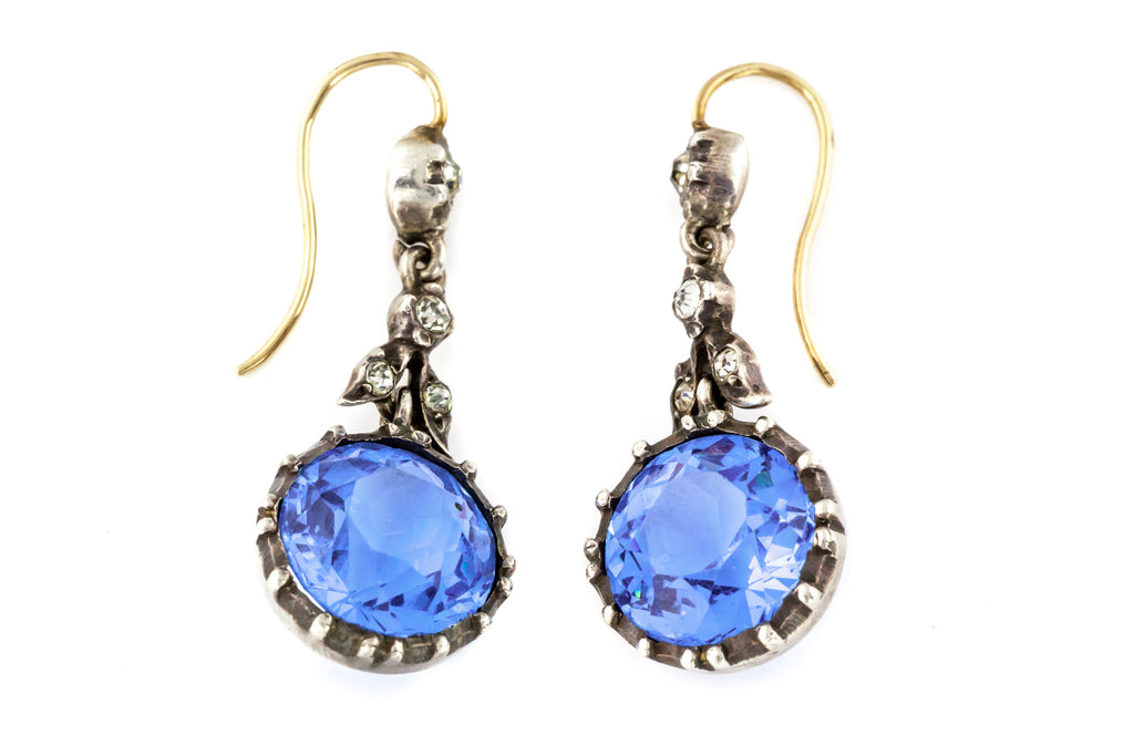 Edwardian Paste Drop Earrings c.1901