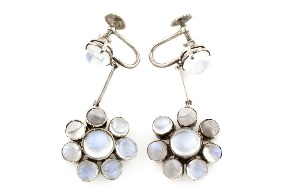 Antique Moonstone Earrings c.1900