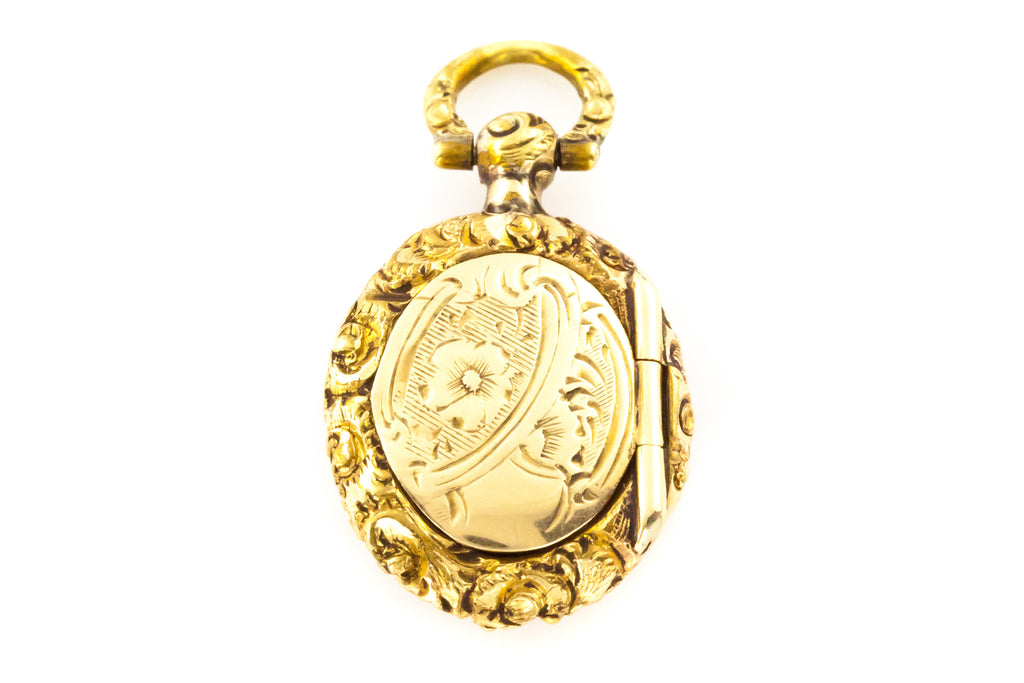 Antique Georgian Gold Charm Locket c.1830
