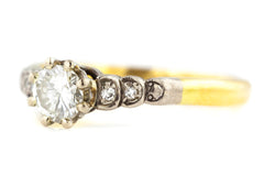 Art Deco Diamond Engagement Ring c.1920
